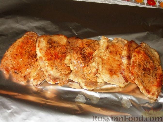 Свиной шницель в духовке рецепты