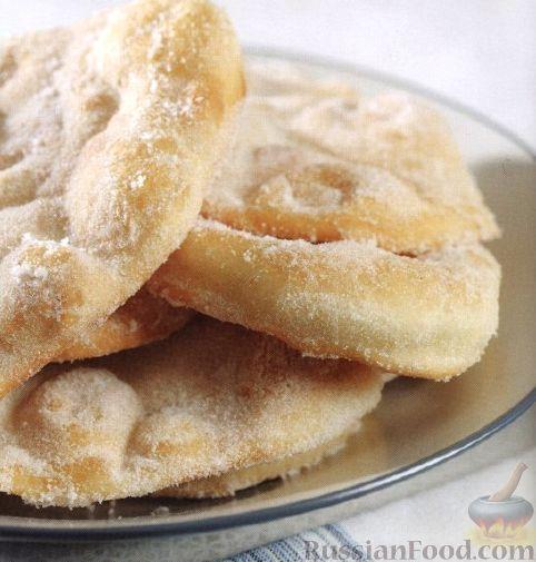 Рецепт Дрожжевые лепешки с сахаром