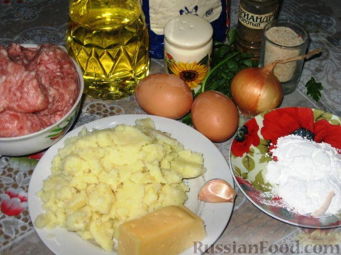 Рецепт запеченной картошки с грибами и мясом в духовке рецепт с фото