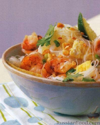 Рецепт Рисовая лапша по-тайски