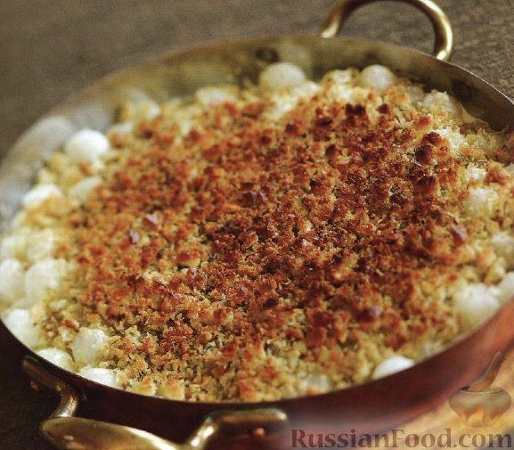 Рецепт Жемчужный лук, запеченный в духовке