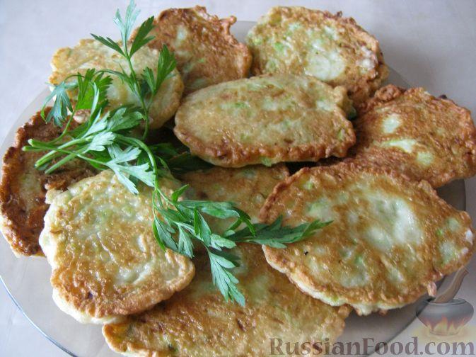 Рецепт Драники из кабачков