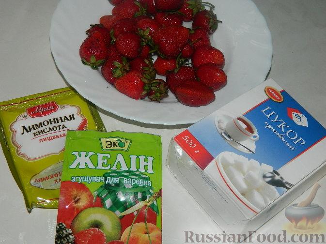 рецепт приготовления клубничного конфитюра