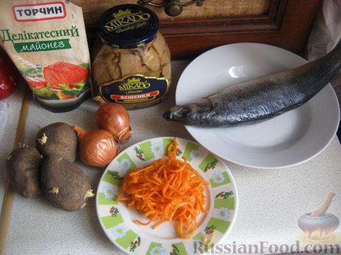 салат лисья шубка пошаговый рецепт