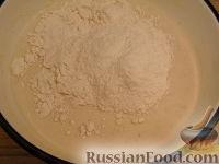 Фото приготовления рецепта: Блины из кукурузной муки - шаг №6