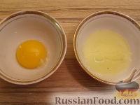 Фото приготовления рецепта: Блины из кукурузной муки - шаг №7