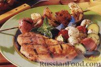 Фото к рецепту: Куриное филе, приготовленное на гриле
