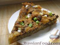 Фото к рецепту: Запеканка из макарон, сыра и куриной печени
