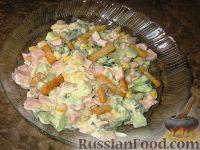 Фото к рецепту: Вкусный салат