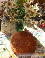 Фото к рецепту: Кекс с персиками