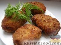 """Фото к рецепту: Котлеты из свинины с картофелем """"Царскосельские"""""""