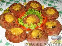 Фото к рецепту: Мясные гнезда