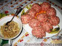 Фото приготовления рецепта: Мясные гнезда - шаг №3