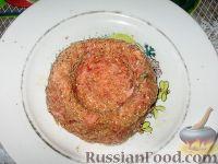 Фото приготовления рецепта: Мясные гнезда - шаг №4