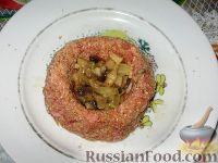 Фото приготовления рецепта: Мясные гнезда - шаг №5