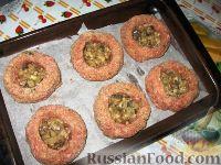 Фото приготовления рецепта: Мясные гнезда - шаг №6