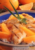 Фото к рецепту: Куриное филе на гриле с медовым соусом