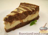 Фото к рецепту: Американский чизкейк (творожный пирог)