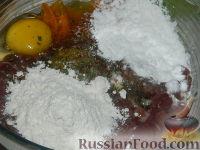 Фото приготовления рецепта: Нежные печеночные оладьи - шаг №11