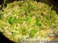 Фото приготовления рецепта: Молдавские вертуты с капустой из лаваша - шаг №3