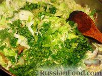 Фото приготовления рецепта: Молдавские вертуты с капустой из лаваша - шаг №4
