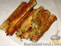 Фото приготовления рецепта: Молдавские вертуты с капустой из лаваша - шаг №7