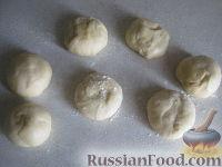 Фото приготовления рецепта: Хлебные лепешки - шаг №4