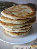 Фото приготовления рецепта: Хлебные лепешки - шаг №8