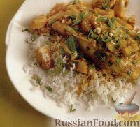 Фото к рецепту: Палтус по-тайски