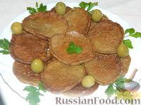 Фото приготовления рецепта: Нежные печеночные оладьи - шаг №17