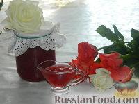 Фото к рецепту: Розовое варенье