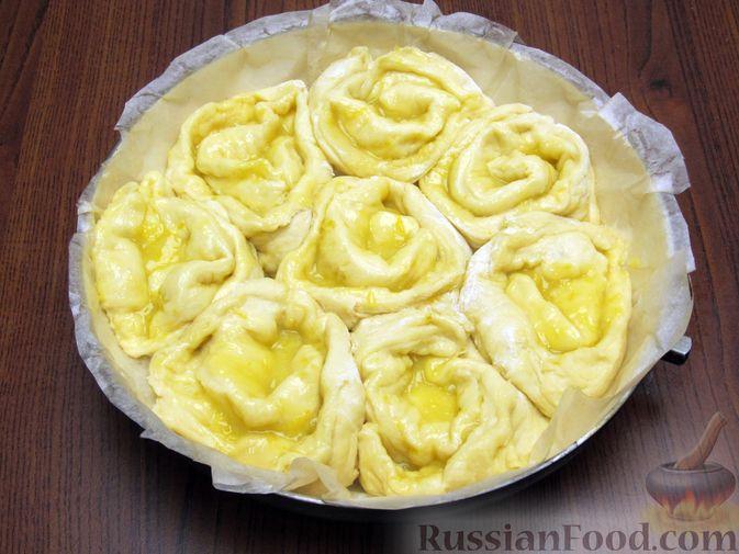 Фото приготовления рецепта: Суп с тыквой, шампиньонами и вермишелью - шаг №4