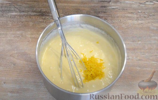 Фото приготовления рецепта: Тыквенный крем-суп с сухариками - шаг №6