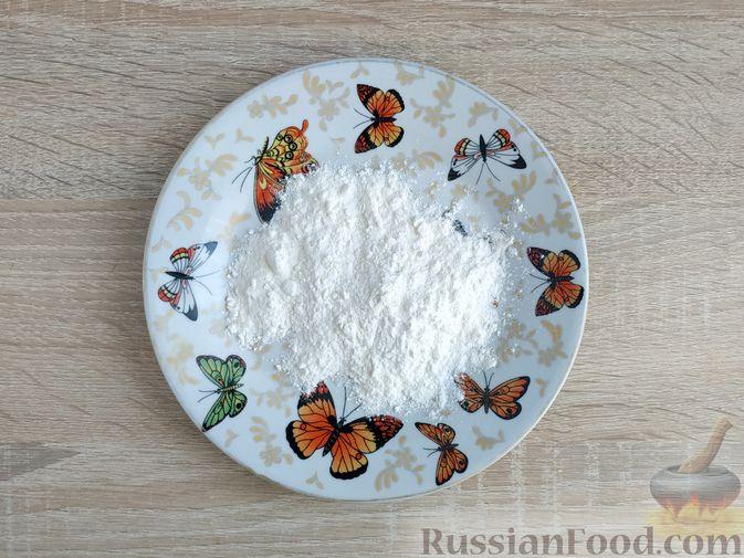 Фото приготовления рецепта: Толстые дрожжевые блины на молоке, манке и пшённой каше - шаг №2