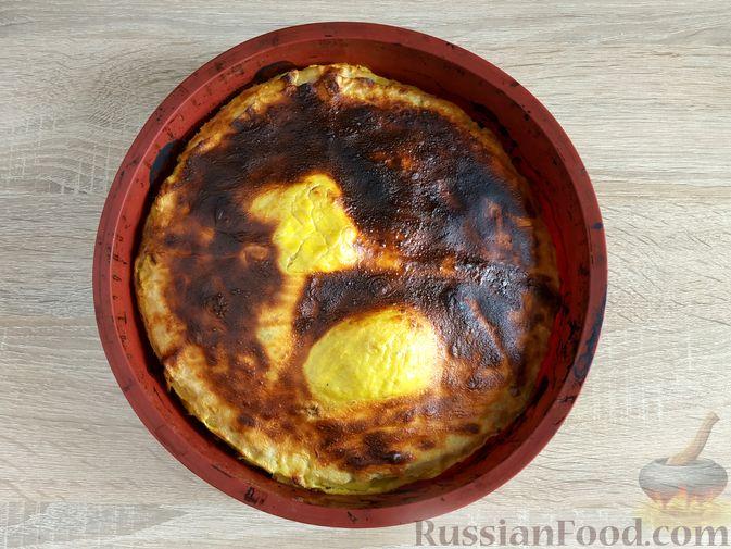 Фото приготовления рецепта: Суп с куриными фрикадельками и вермишелью - шаг №4