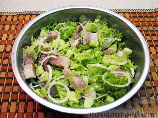 Фото приготовления рецепта: Толстые дрожжевые блины на молоке, манке и пшённой каше - шаг №1