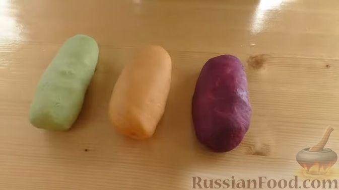 Фото приготовления рецепта: Несладкий картофельный хворост - шаг №19