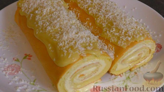 Фото приготовления рецепта: Картофельно-мясной пирог на кефире - шаг №24