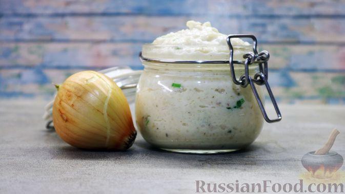 Фото к рецепту: Луковый соус