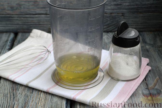 Фото приготовления рецепта: Творожная запеканка без сахара и муки - шаг №5