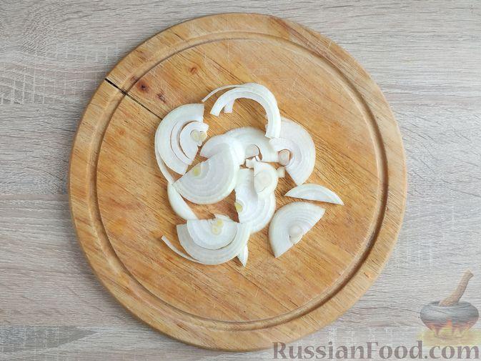 Фото приготовления рецепта: Куриное филе, запечённое с овощами - шаг №7
