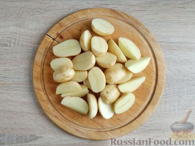 Фото приготовления рецепта: Куриное филе, запечённое с овощами - шаг №3