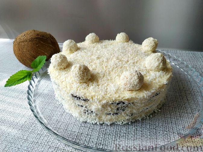 Фото приготовления рецепта: Овсяный крамбл с мандаринами - шаг №10