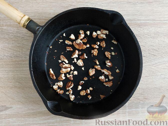 Фото приготовления рецепта: Песто из шпината с грецкими орехами - шаг №5