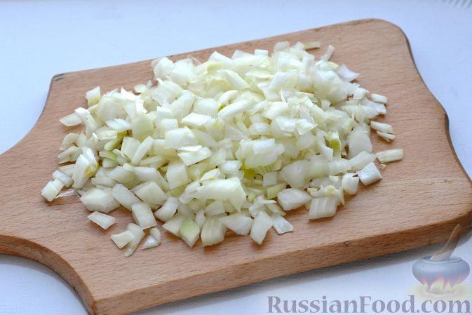 Фото приготовления рецепта: Картофельные зразы с морковью и варёными яйцами - шаг №7