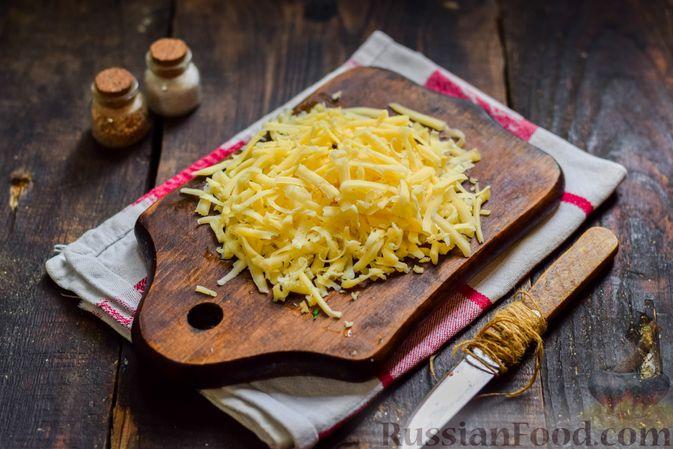 Фото приготовления рецепта: Рыбная запеканка с картофелем и шпинатом - шаг №6