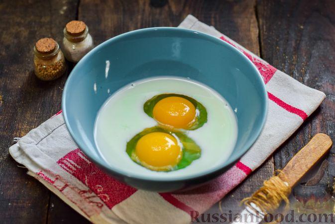 Фото приготовления рецепта: Рыбная запеканка с картофелем и шпинатом - шаг №7