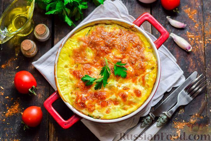 Фото приготовления рецепта: Рыбная запеканка с картофелем и шпинатом - шаг №15