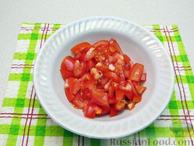 Фото приготовления рецепта: Суп с капустой, помидорами, рисом и ветчиной - шаг №12