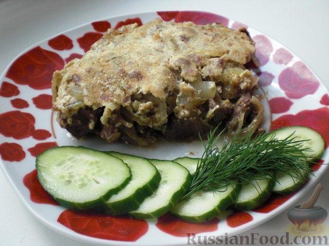 печенка куриная в сметанном соусе рецепт с фото